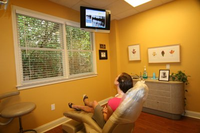 HDTV in Treatment Areas
